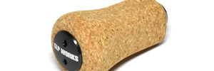 RCS Power Square Cork Handle Knob